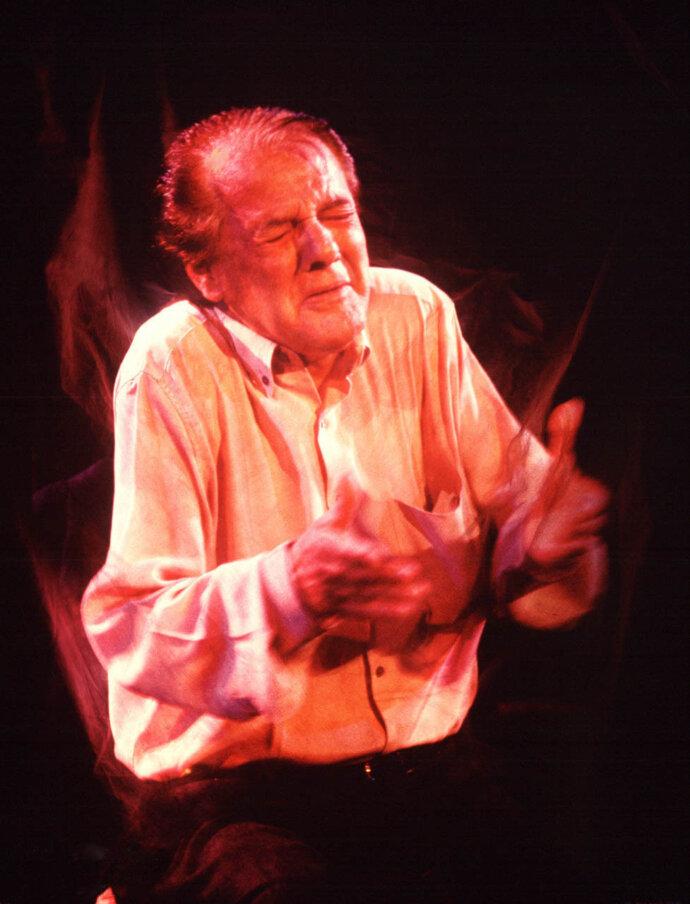 View of the Soul. Flamenco Singer Chano Lobato